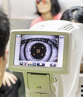 Prise de mesure Prothese oculaire Laboratoire Dencott