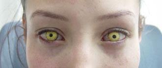 lentille de contact effets spéciaux pour le cinéma laboratoire Dencott